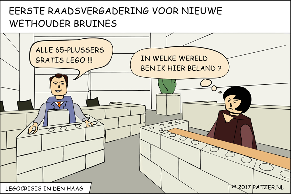 Legocrisis in Den Haag_1000