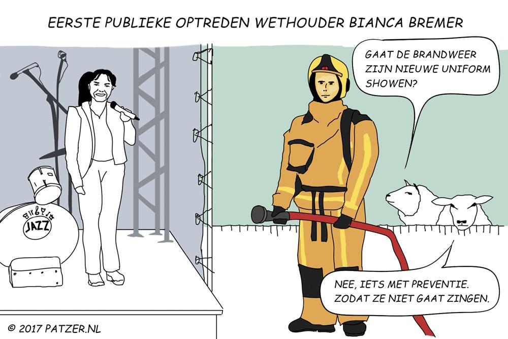 Eerste PUBLIEKE optreden BIanca Bremer_1000