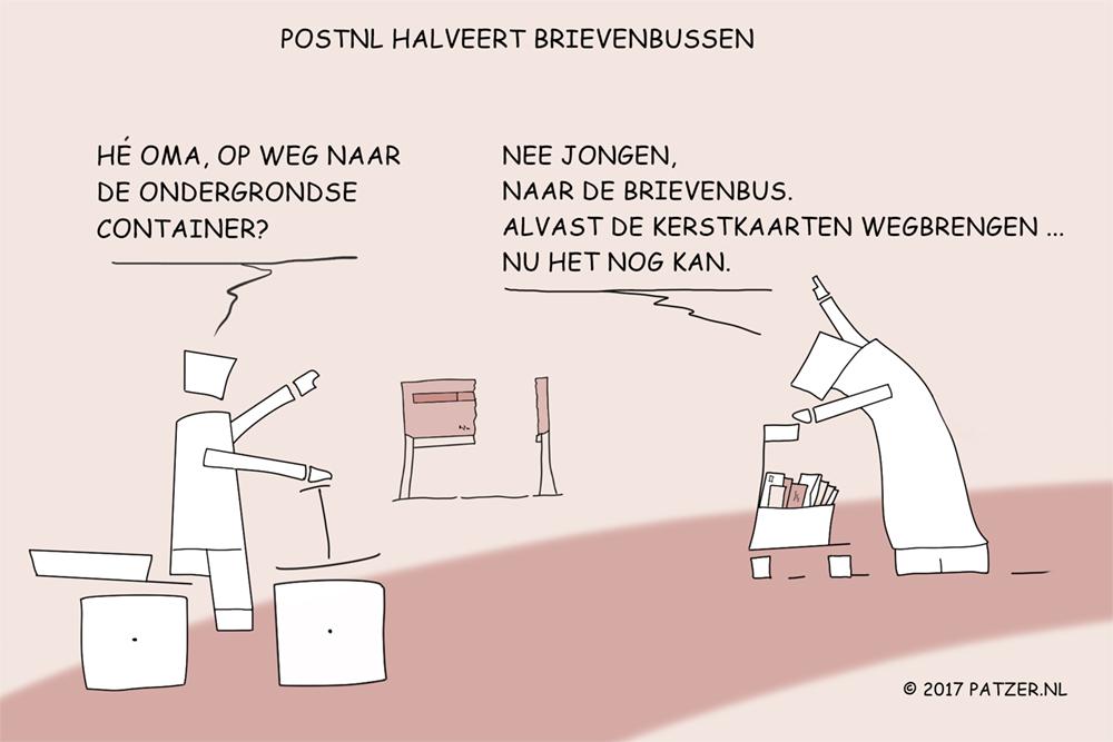 PostNL halveert brievenbussen_1000