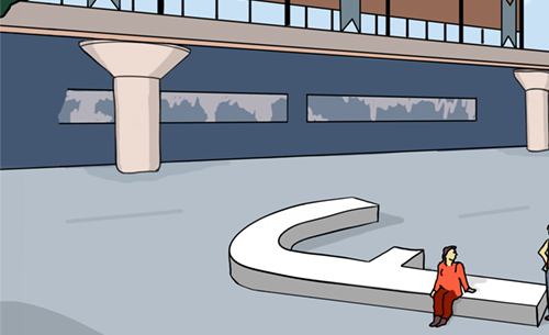 Stationsplein als sociale ontmoetingsplek