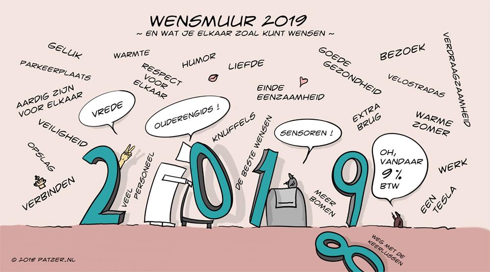 Wensmuur 2019
