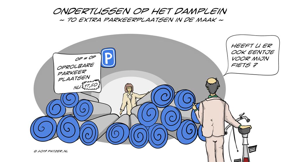 Ondertussen op het Damplein