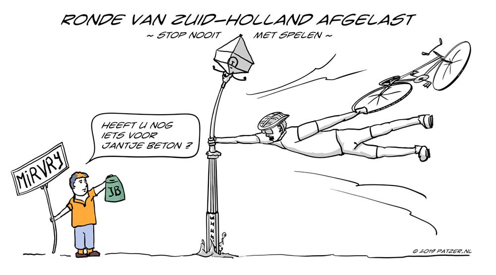 Ronde van Zuid-Holland afgelast