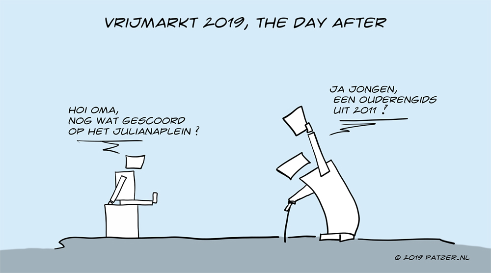 Vrijmarkt 2019, the day after