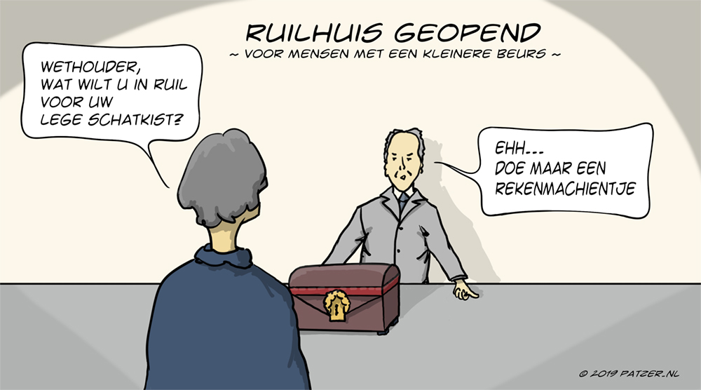 Ruilhuis geopend