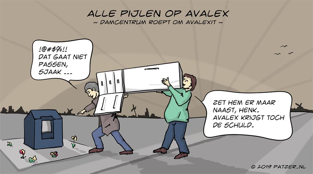 Alle pijlen op Avalex