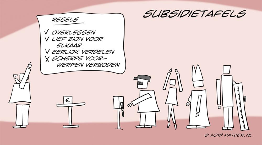 Subsidietafels